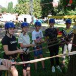 grupy szkolne młodzieżowe park linowy Kudowa