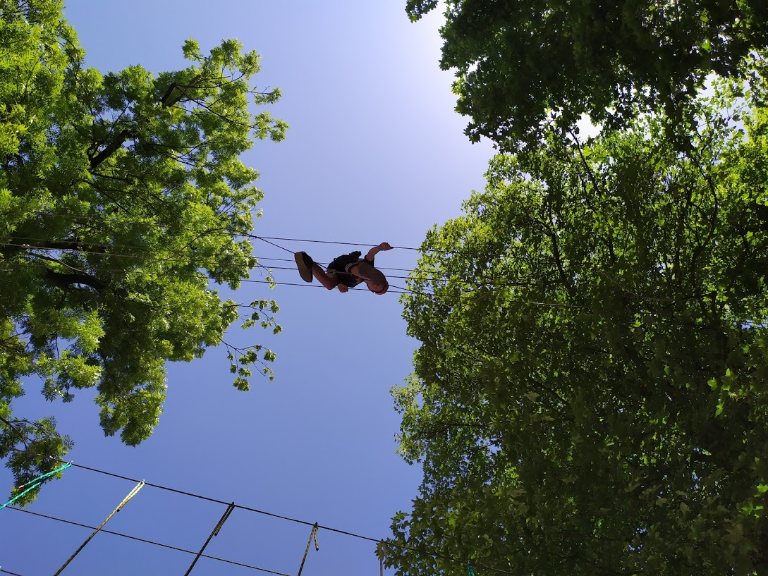 Park Linowy Kudowa wysoka trasa